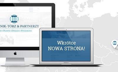Nowa strona internetowa Kancelarii!
